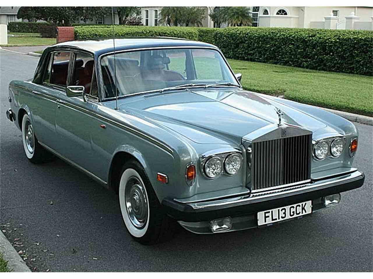 1978 rolls royce silver shadow ii for sale cc 1076083. Black Bedroom Furniture Sets. Home Design Ideas