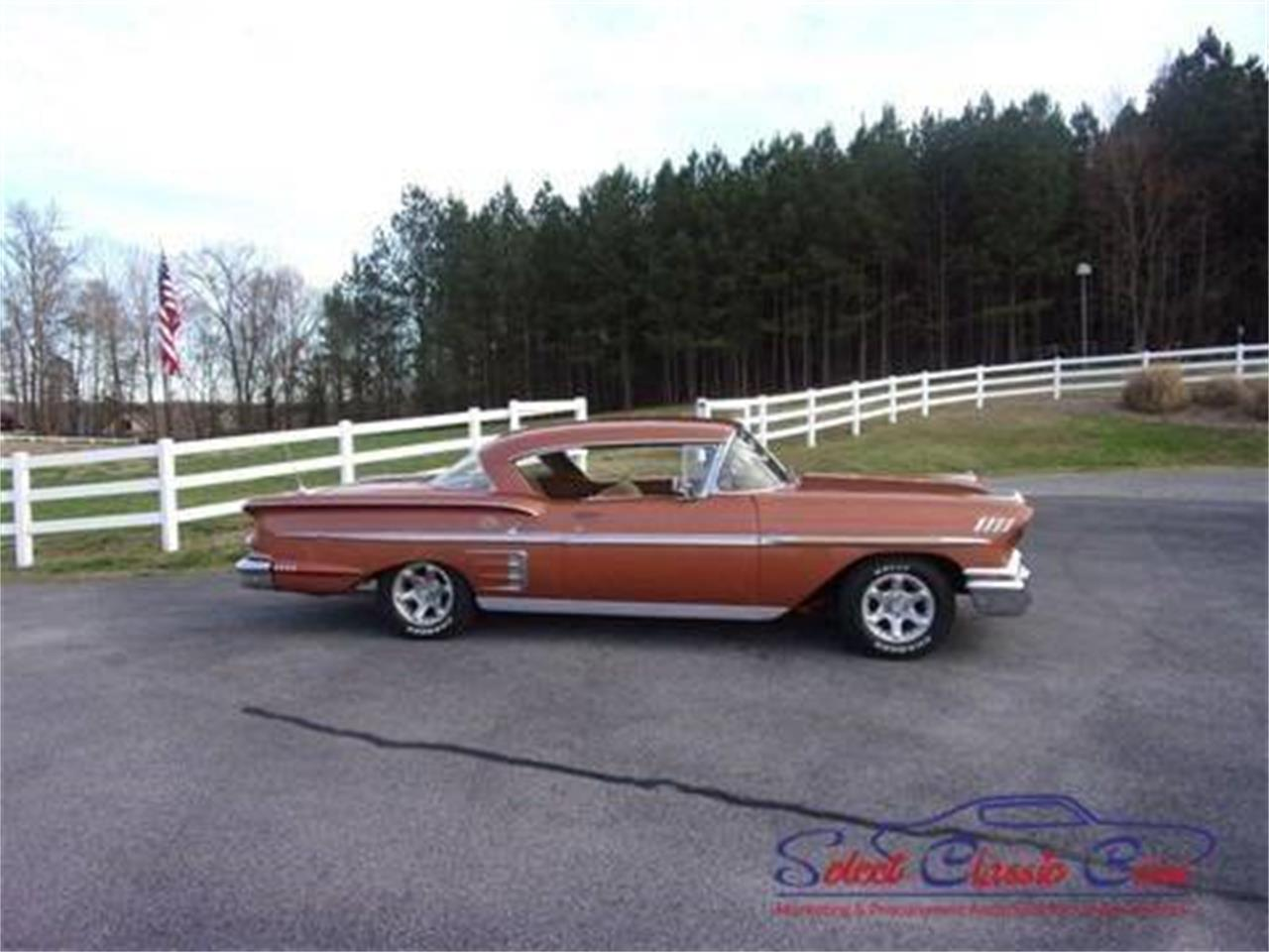 1958 Chevrolet Impala For Sale Cc 1070611 1957 Chevy Convertible Lowrider Large Picture Of 58 My37