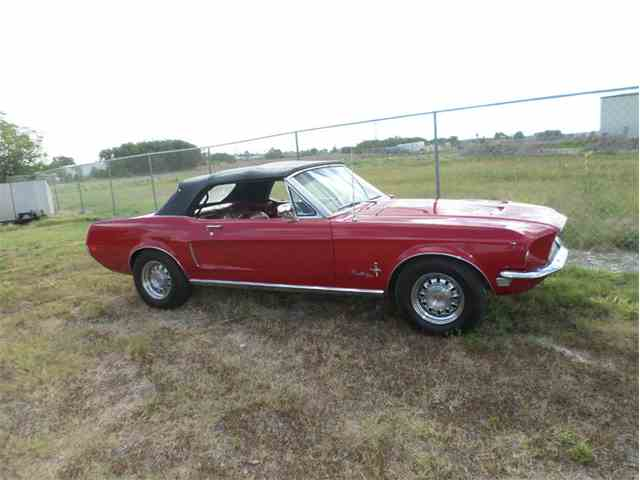 Picture of Classic '68 Ford Mustang located in Texas Offered by Dan Kruse Classics - N2C7