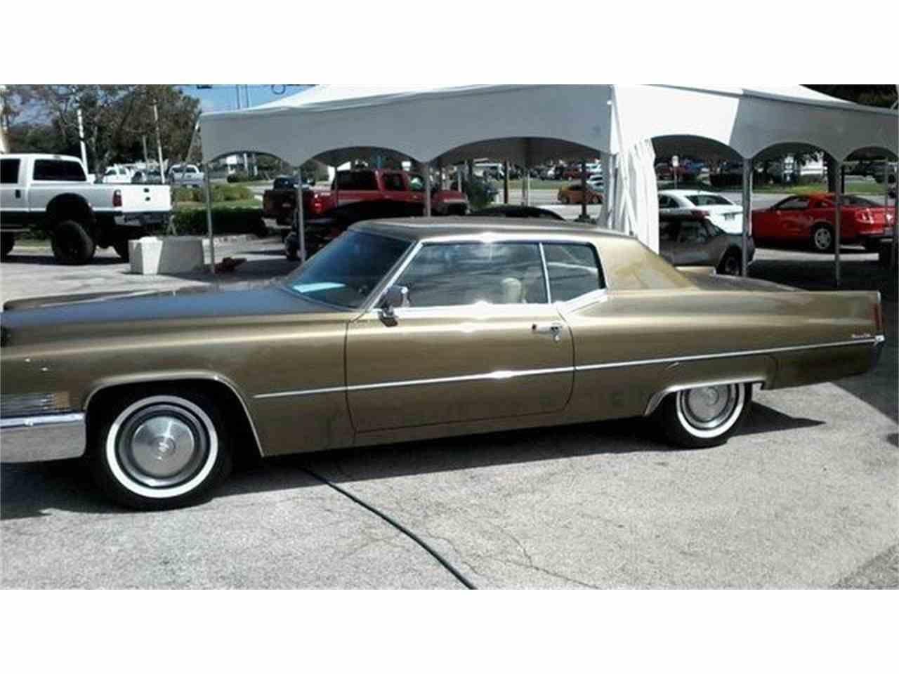 1970 Cadillac Coupe DeVille for Sale | ClicCars.com | CC-1076176