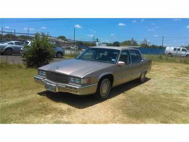 Picture of '90 Cadillac Fleetwood located in Texas Auction Vehicle - N2DZ