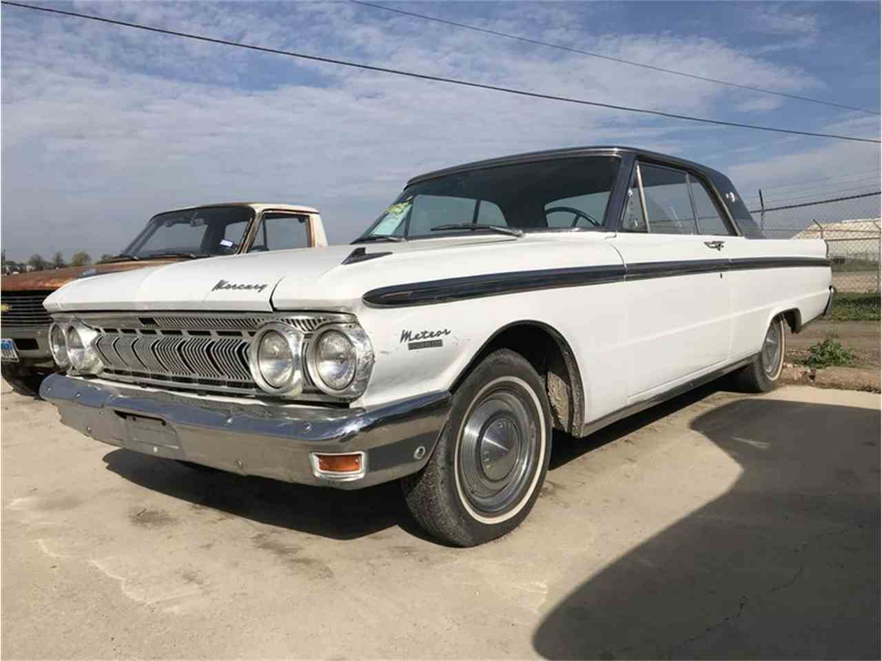1963 mercury meteor custom for sale cc 1076239. Black Bedroom Furniture Sets. Home Design Ideas
