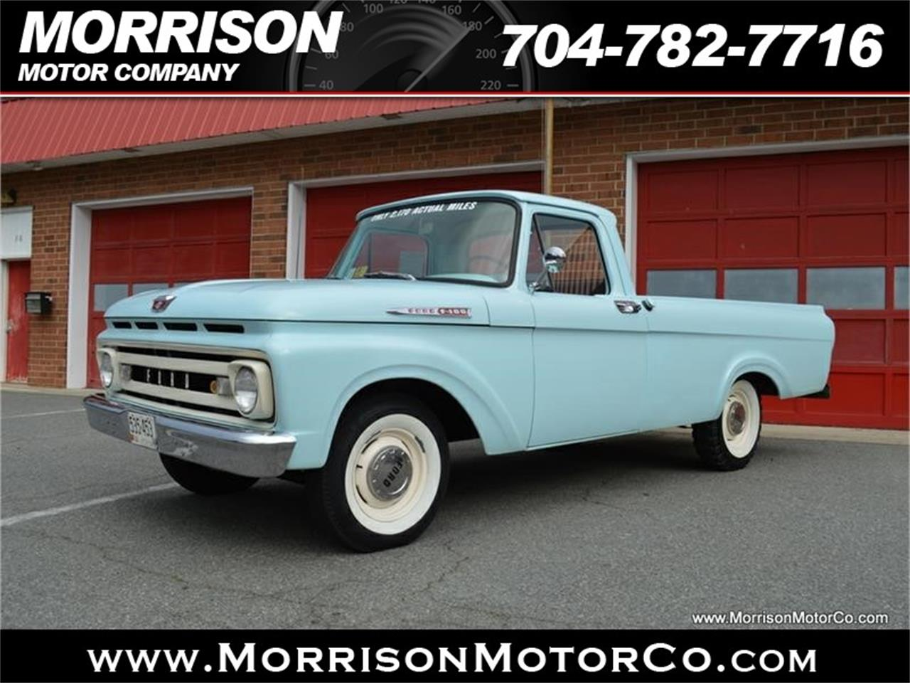 Large Picture of 1961 Ford F100 located in Concord North Carolina - $28,900.00 Offered by Morrison Motor Company - N2N5