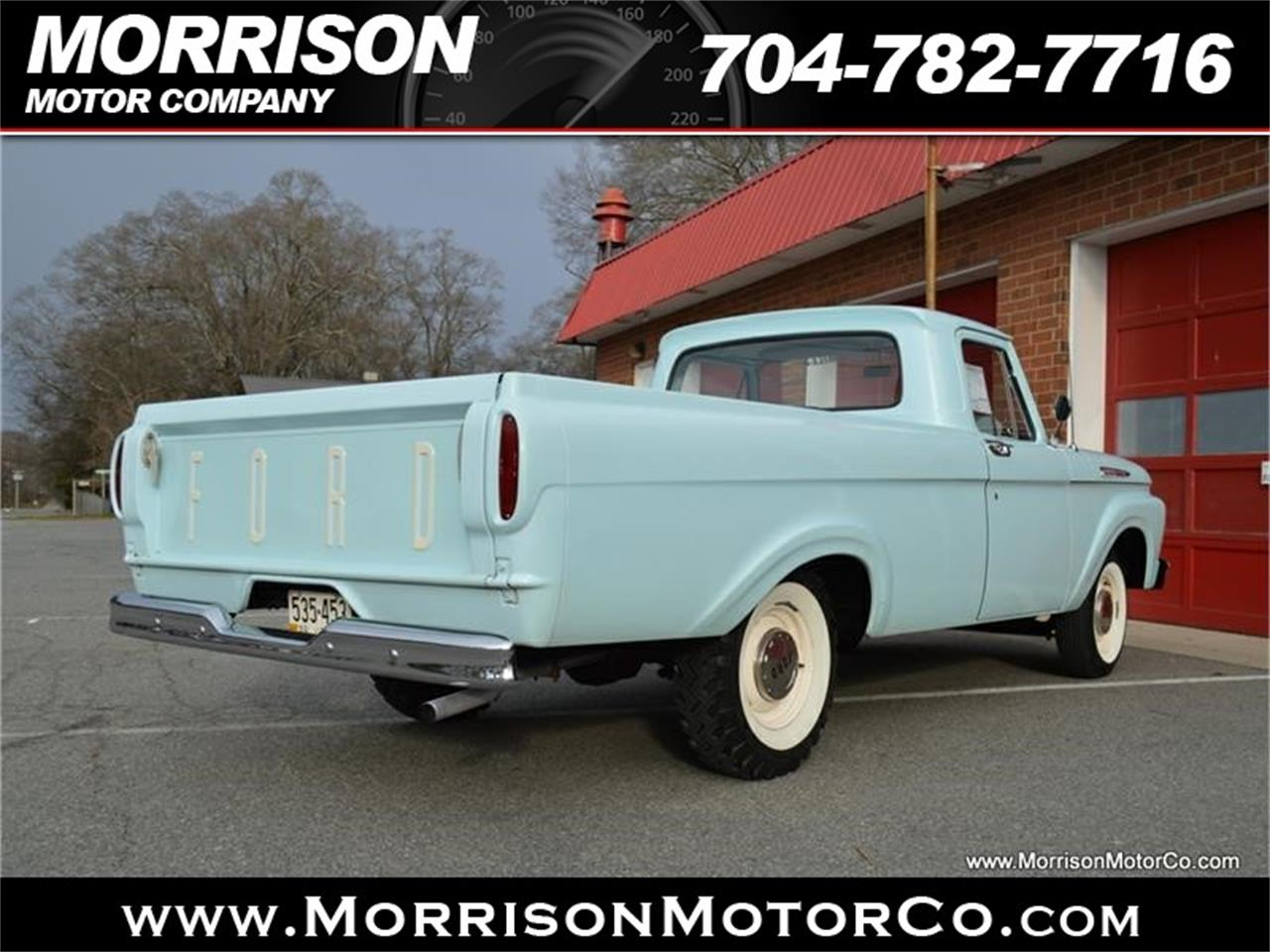 Large Picture of 1961 Ford F100 located in North Carolina - $28,900.00 - N2N5