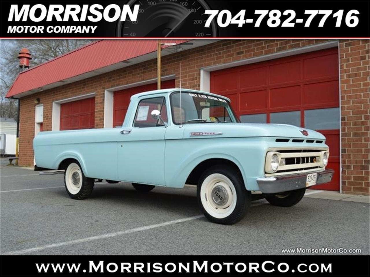 Large Picture of Classic 1961 Ford F100 located in North Carolina - N2N5