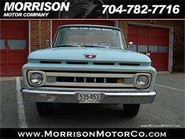 Picture of 1961 F100 located in Concord North Carolina - N2N5
