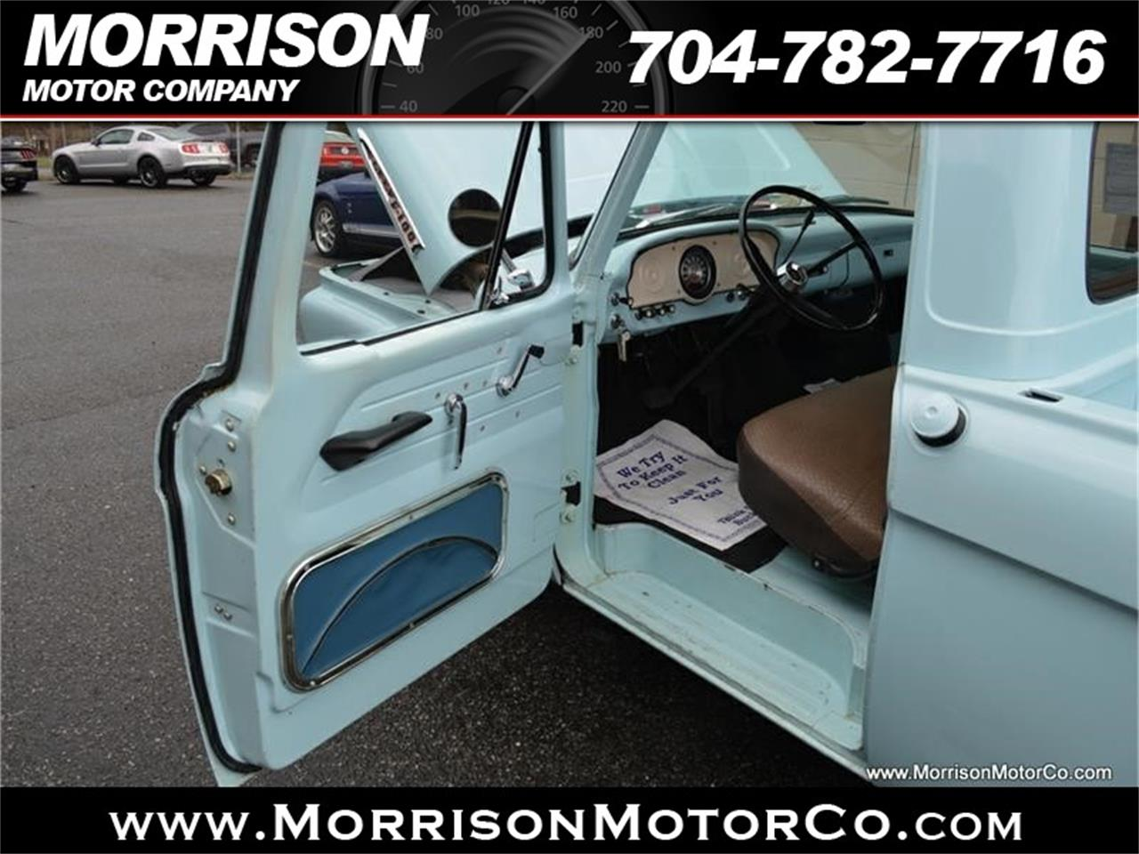 Large Picture of 1961 F100 located in Concord North Carolina Offered by Morrison Motor Company - N2N5