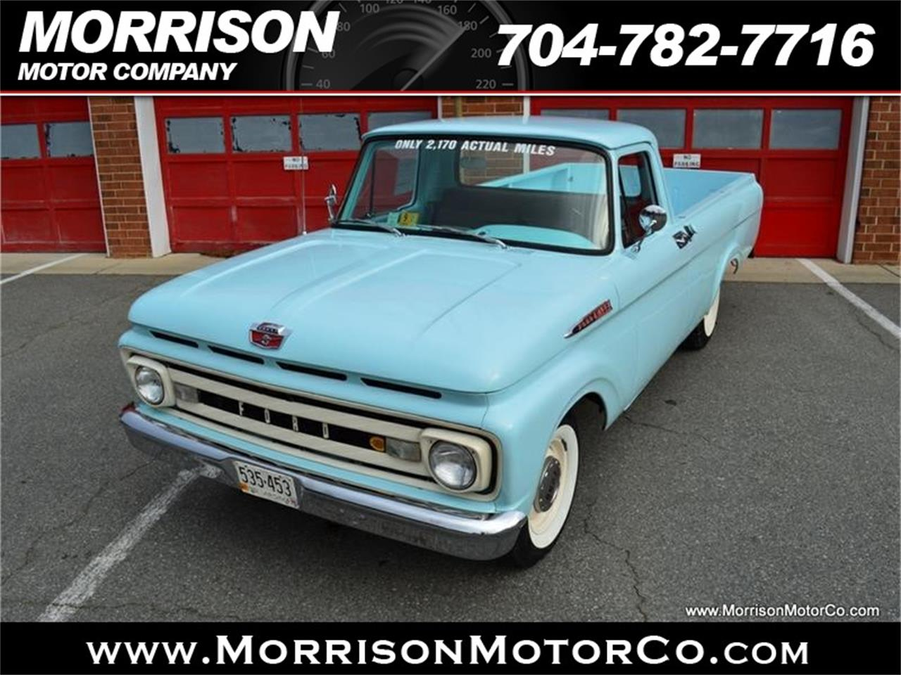 Large Picture of 1961 Ford F100 - $28,900.00 - N2N5