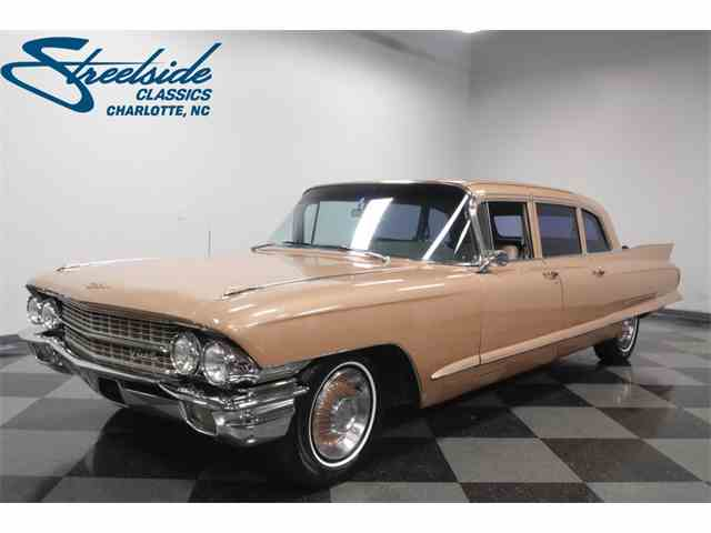 Picture of 1962 Cadillac Fleetwood 75 Sedan located in North Carolina Offered by Streetside Classics - Charlotte - N2NU