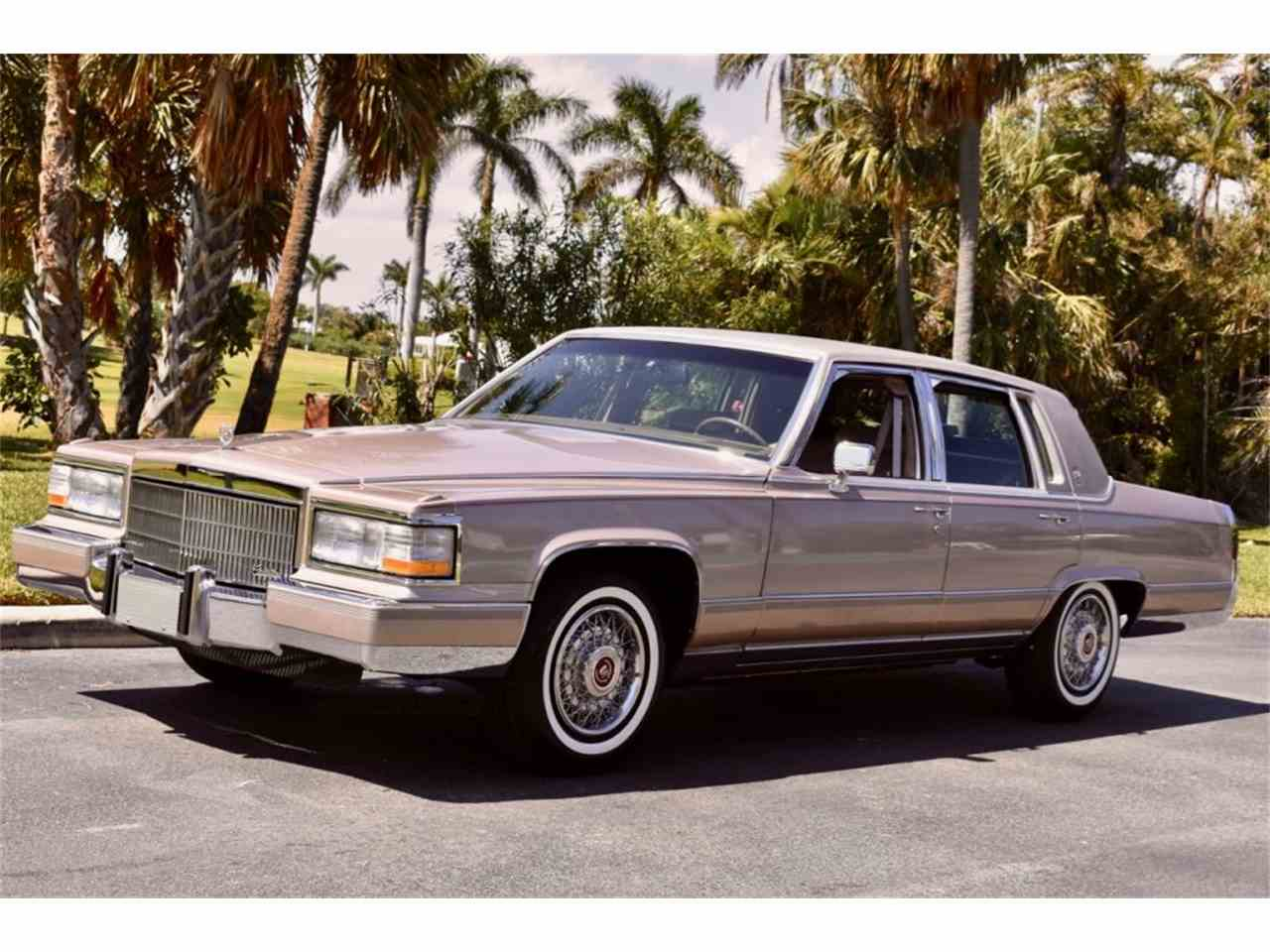 1991 Cadillac Brougham for Sale | ClicCars.com | CC-1076583
