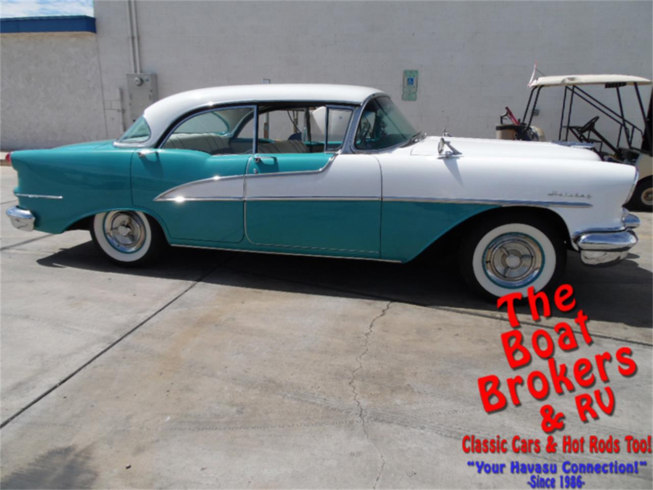 Large Picture of Classic 1955 Oldsmobile Holiday Rocket 88 - $31,000.00 Offered by The Boat Brokers - N2PY