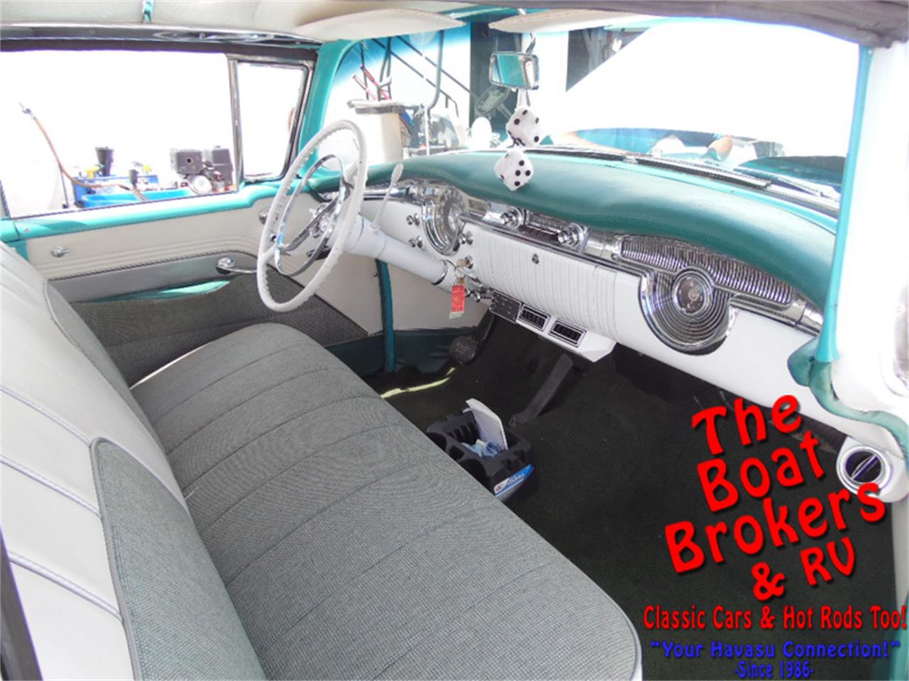 Large Picture of Classic 1955 Oldsmobile Holiday Rocket 88 Offered by The Boat Brokers - N2PY