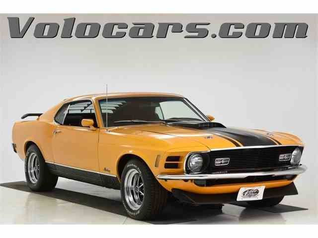 Picture of Classic 1970 Mustang located in Volo Illinois Offered by Volo Auto Museum - N2WS