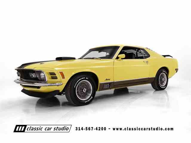 Picture of 1970 Mustang Mach 1 - $47,900.00 Offered by Classic Car Studio - N35X