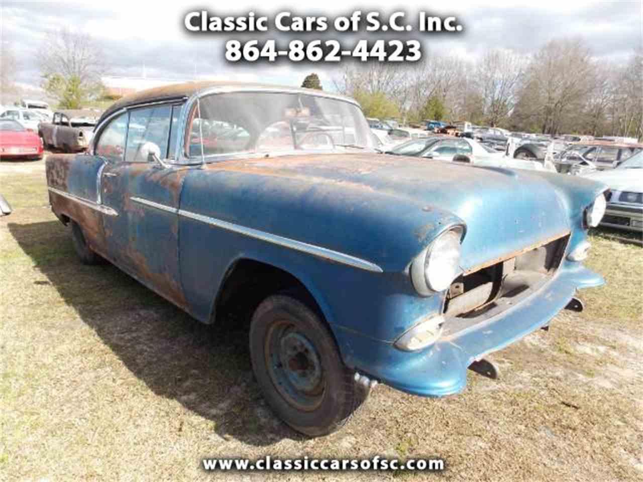 1955 Chevrolet Bel Air for Sale   ClassicCars.com   CC-1077214