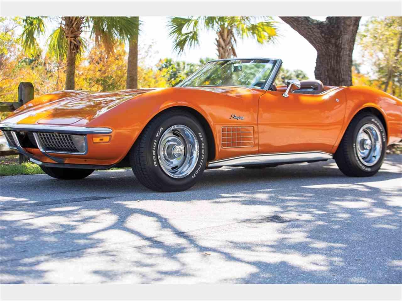1971 chevrolet corvette stingray for sale cc 1077218. Black Bedroom Furniture Sets. Home Design Ideas