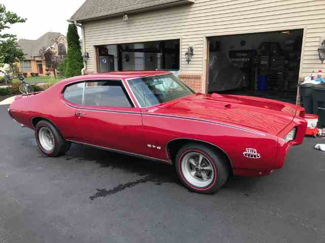 Picture of Classic '69 Pontiac GTO (The Judge) - $100,000.00 Offered by Lone Star Muscle Cars - N38O