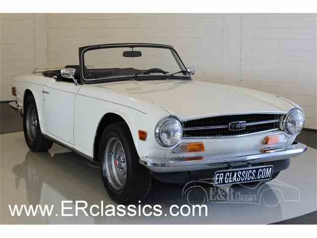 Picture of '73 TR6 - MY6S