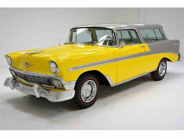 Picture of Classic 1956 Chevrolet Nomad - $53,500.00 Offered by Classic Auto Mall - N3HT