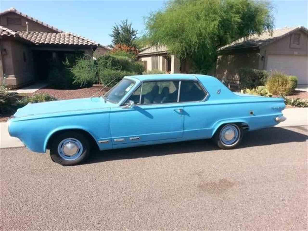 1965 Dodge Dart for Sale | ClicCars.com | CC-1077633