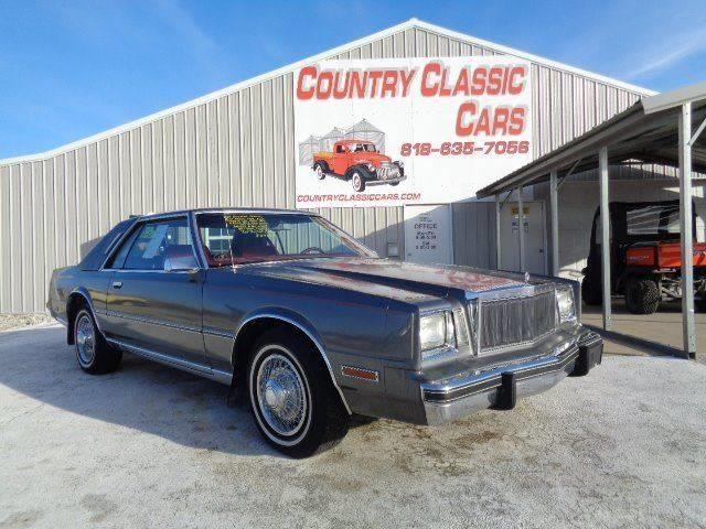 Picture of 1983 Cordoba - $8,950.00 Offered by  - N3LG