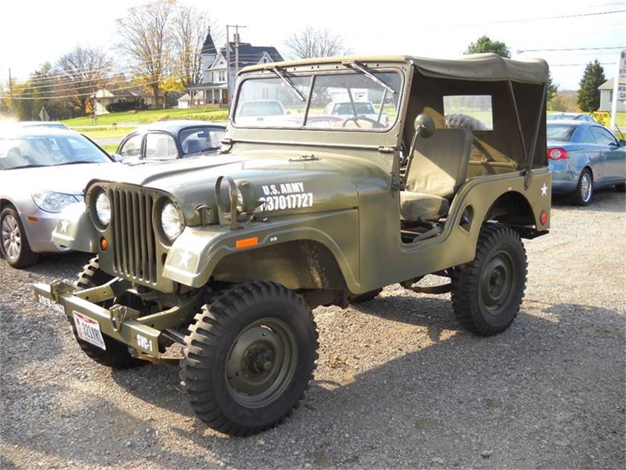 For Sale: 1955 Jeep CJ5 in Ashland, Ohio