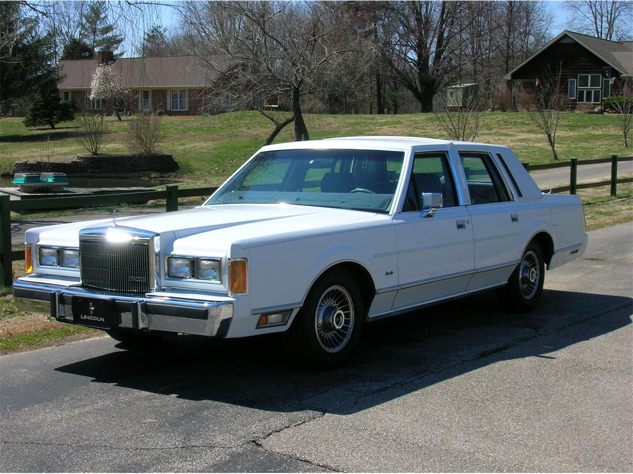 1989 Lincoln Town Car For Sale Classiccars Com Cc 1078070