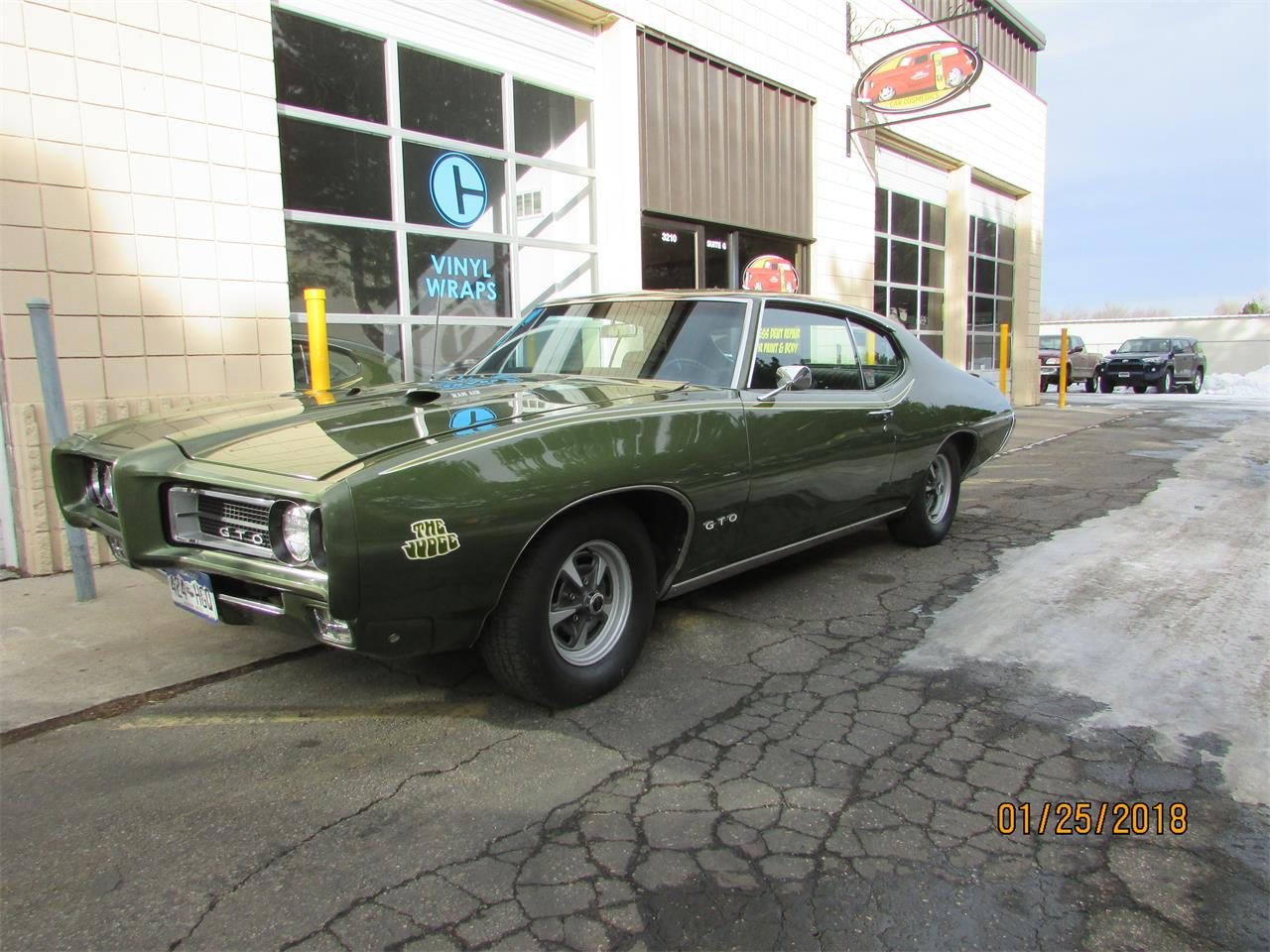 1969 pontiac gto the judge for sale cc 1078181. Black Bedroom Furniture Sets. Home Design Ideas