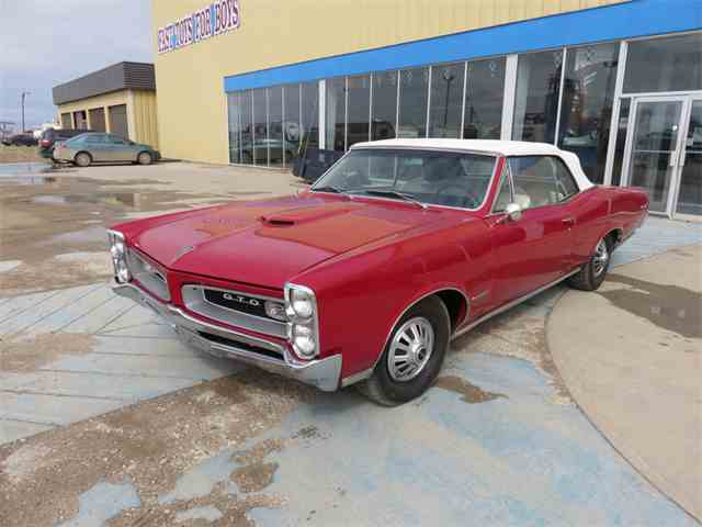 Picture of 1966 Pontiac GTO located in DAVIDSON Saskatchewan Auction Vehicle Offered by  - N449