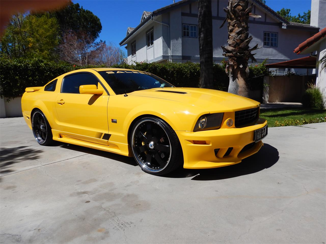 For Sale 2006 Ford Mustang Saleen In Woodlalnd Hills California
