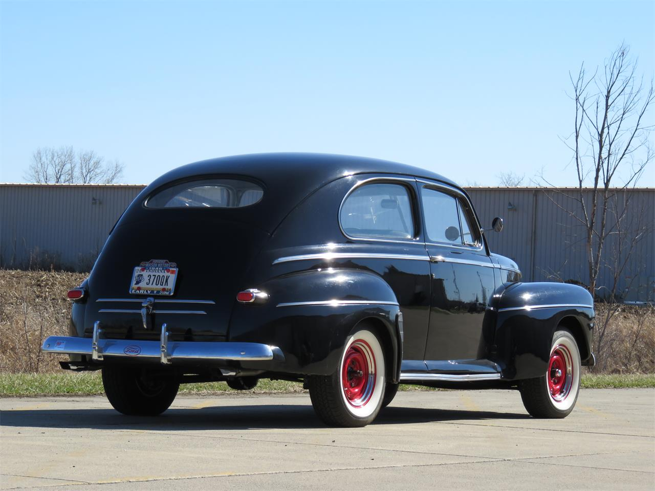 Large Picture of '46 Ford Deluxe located in Kokomo Indiana Auction Vehicle Offered by Earlywine Auctions - MY9Z