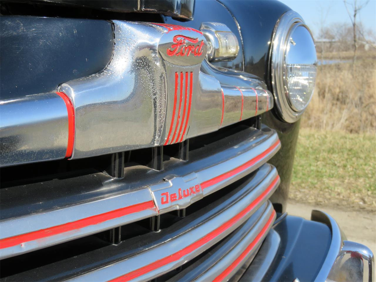 Large Picture of '46 Ford Deluxe Auction Vehicle Offered by Earlywine Auctions - MY9Z