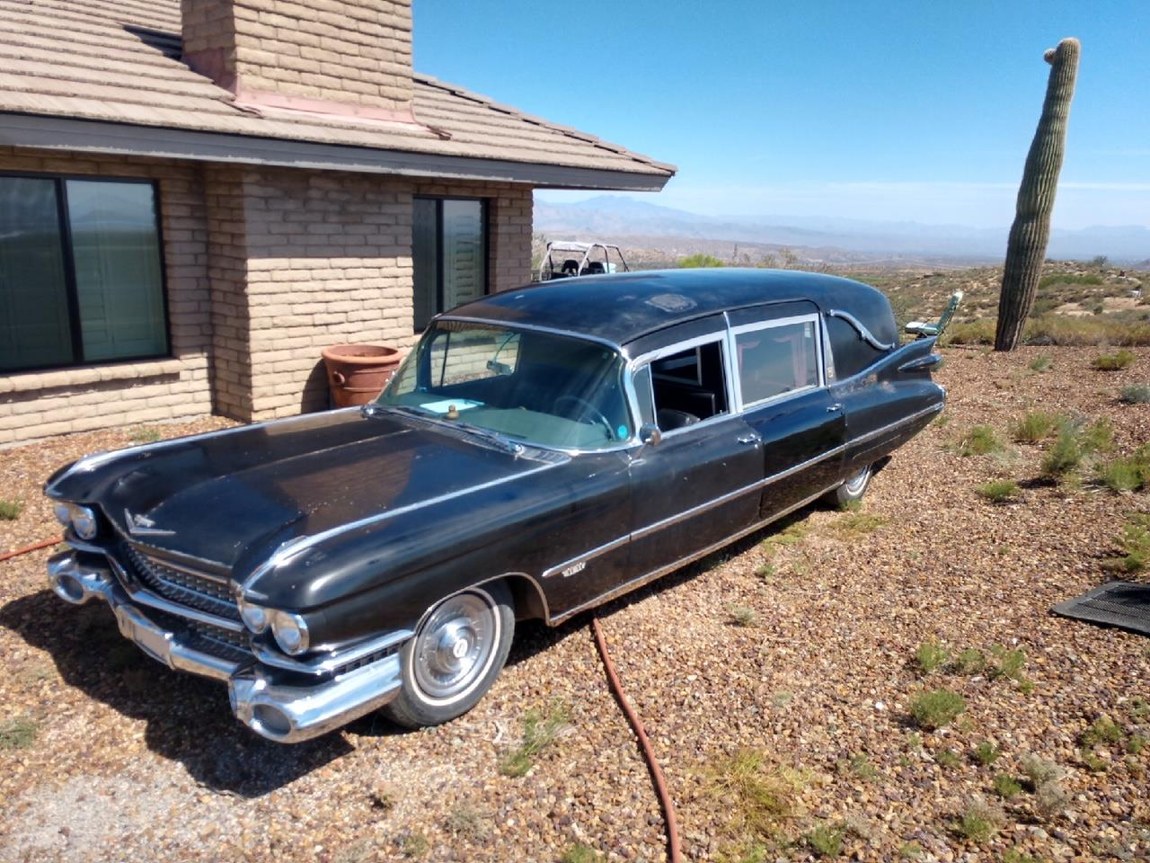1959 Cadillac Hearse For Sale Classiccars Com Cc 1070862