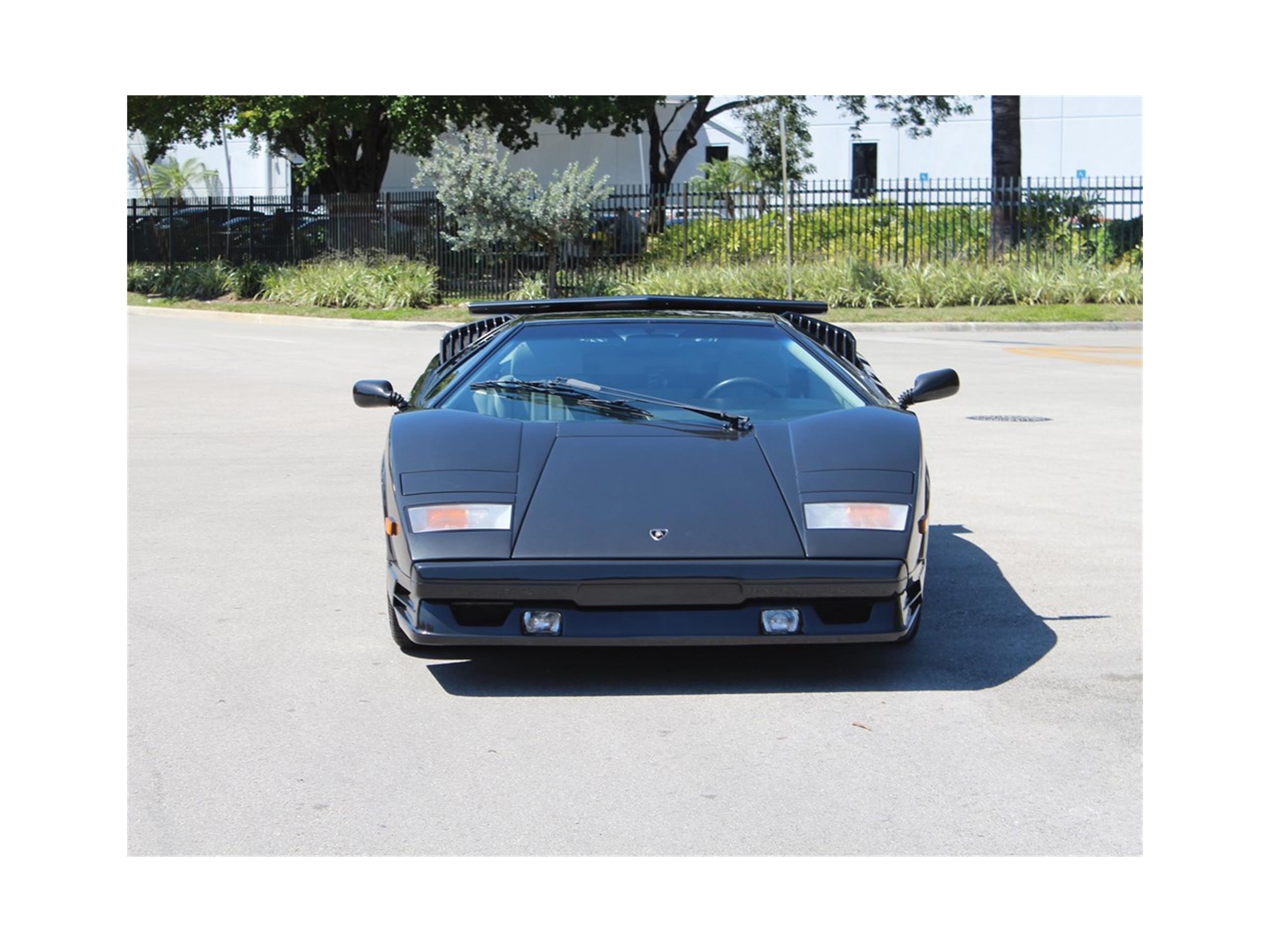 1989 Lamborghini Countach 25th Anniversary for Sale | ClassicCars ...