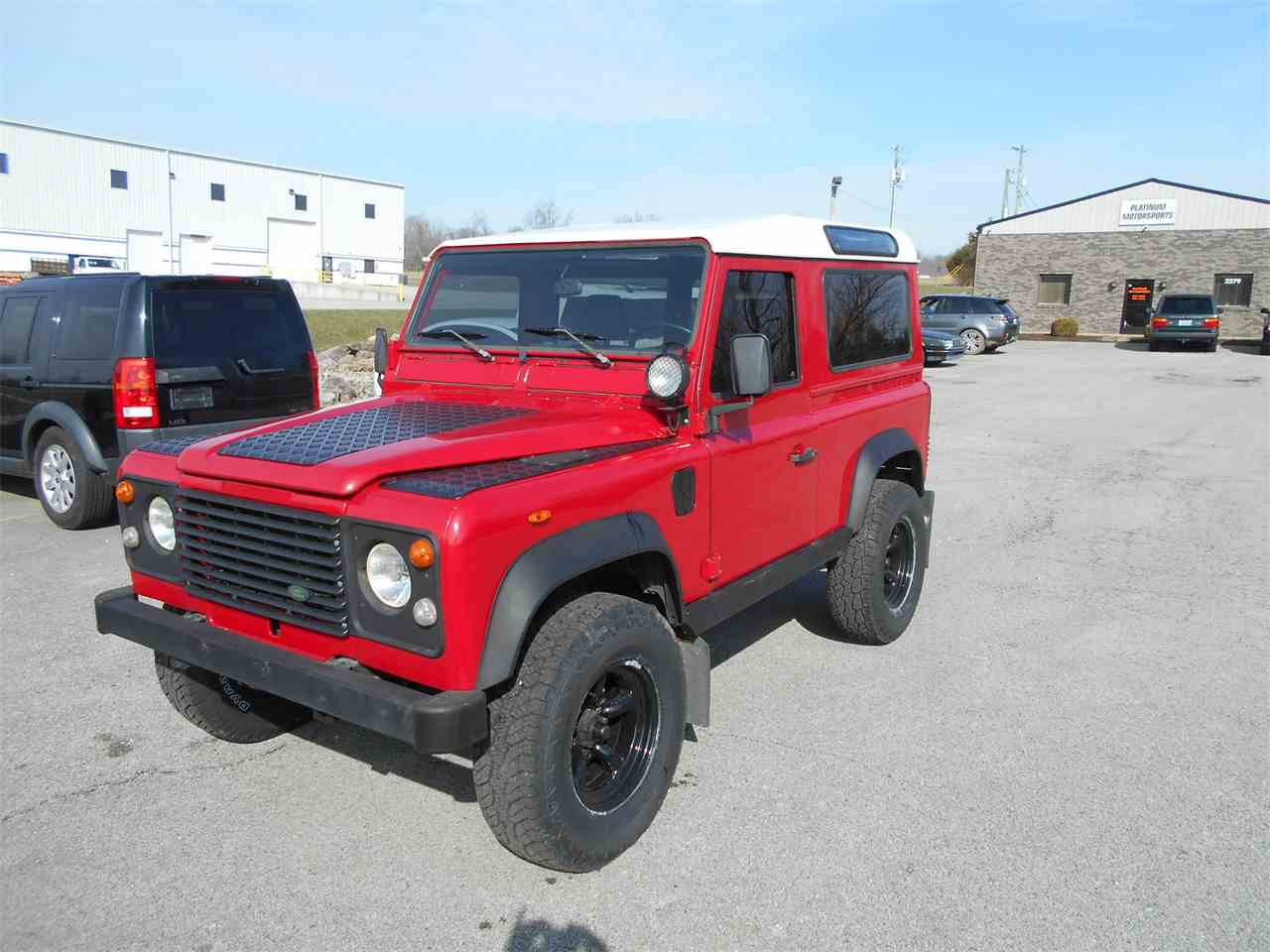 Large Picture of '91 Defender - N4MA