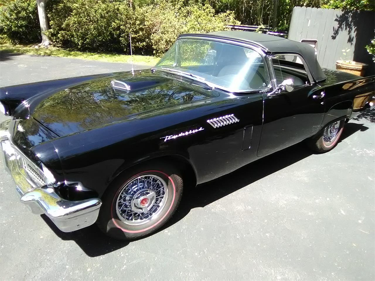 Large Picture of 1957 Thunderbird located in Saint augustine Florida - N4N2