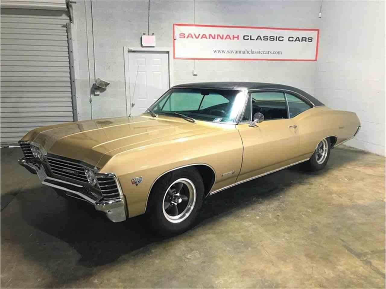 Cars For Sale Savannah Ga: 1967 Chevrolet Impala SS For Sale