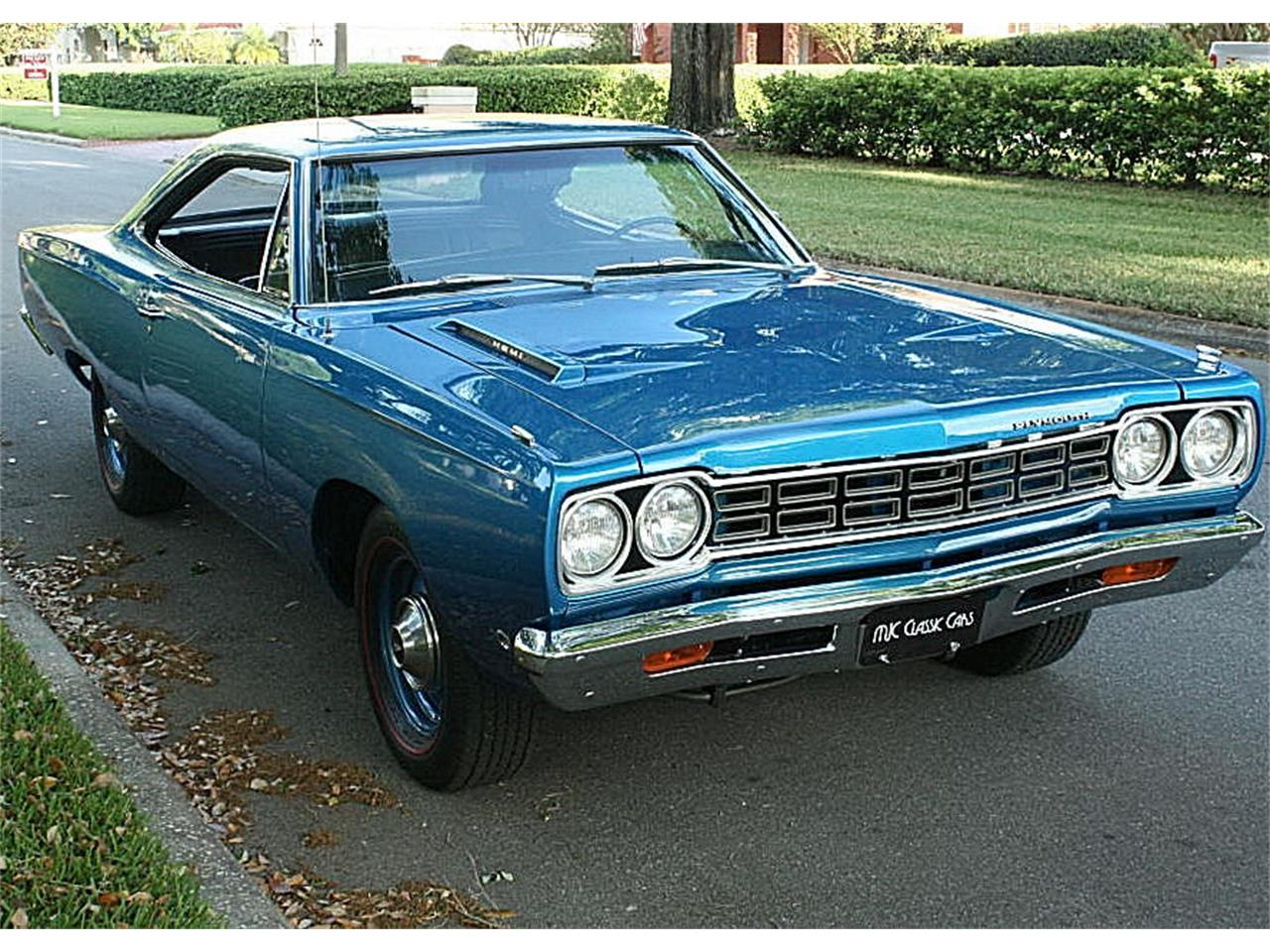 Large Picture of 1968 Plymouth Road Runner located in Florida - N4UW