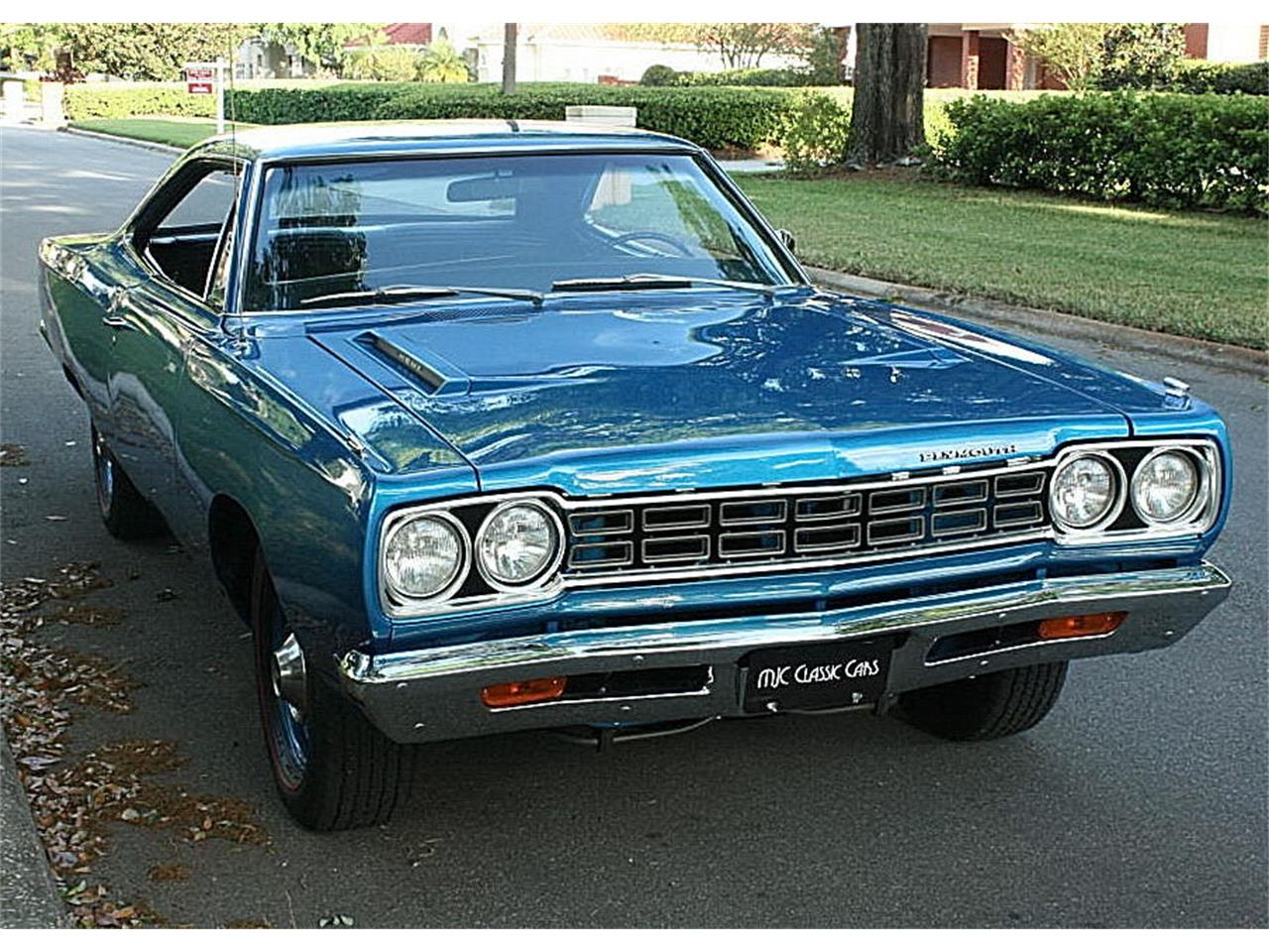 Large Picture of Classic '68 Plymouth Road Runner Offered by MJC Classic Cars - N4UW