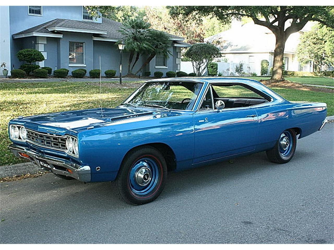 Large Picture of Classic '68 Plymouth Road Runner located in Lakeland Florida Offered by MJC Classic Cars - N4UW