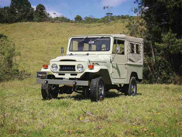 Picture of '70 FJ43 Land Cruiser Soft-Top - N4WK