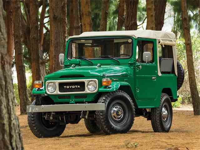 Picture of '82 FJ40 Land Cruiser Soft-Top - N4WN
