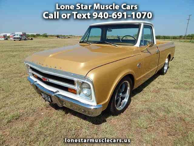 Picture of 1968 Chevrolet C/K 10 located in Wichita Falls Texas - N4ZU
