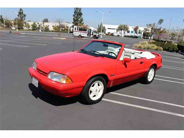 Picture of 1992 Mustang located in Anaheim California - $28,000.00 - N519