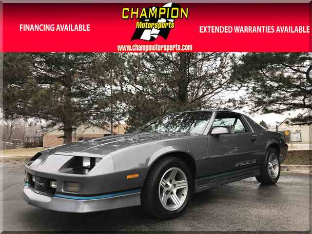 Picture of '88 Chevrolet Camaro IROC-Z located in ILLINOIS - N55G