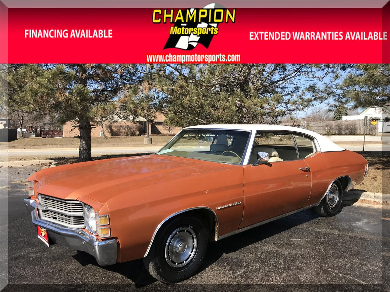 Large Picture of Classic 1971 Chevrolet Chevelle Malibu - $15,995.00 Offered by Champion Motorsports - N55J
