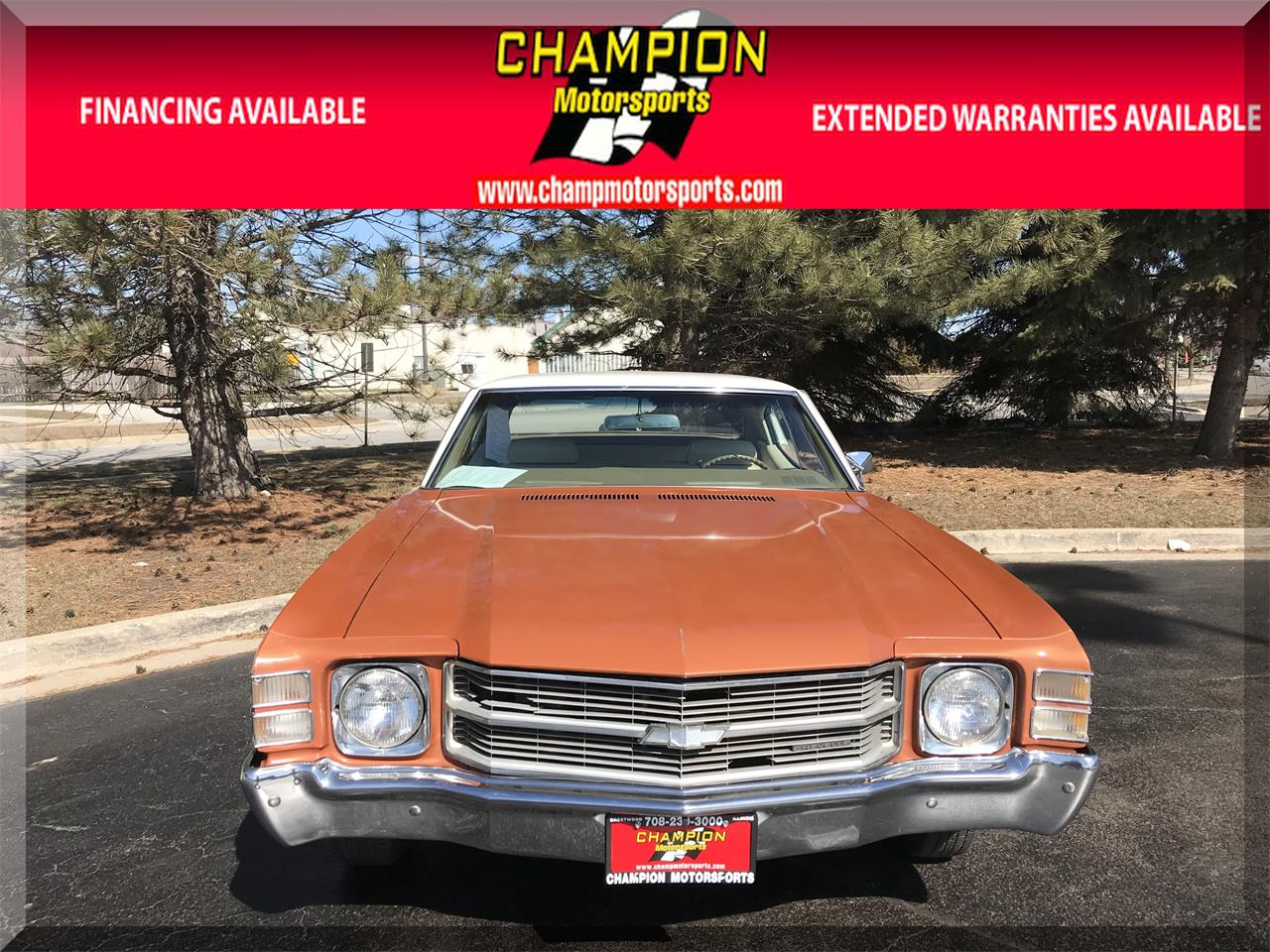 Large Picture of Classic '71 Chevelle Malibu located in crestwood Illinois - $15,995.00 - N55J