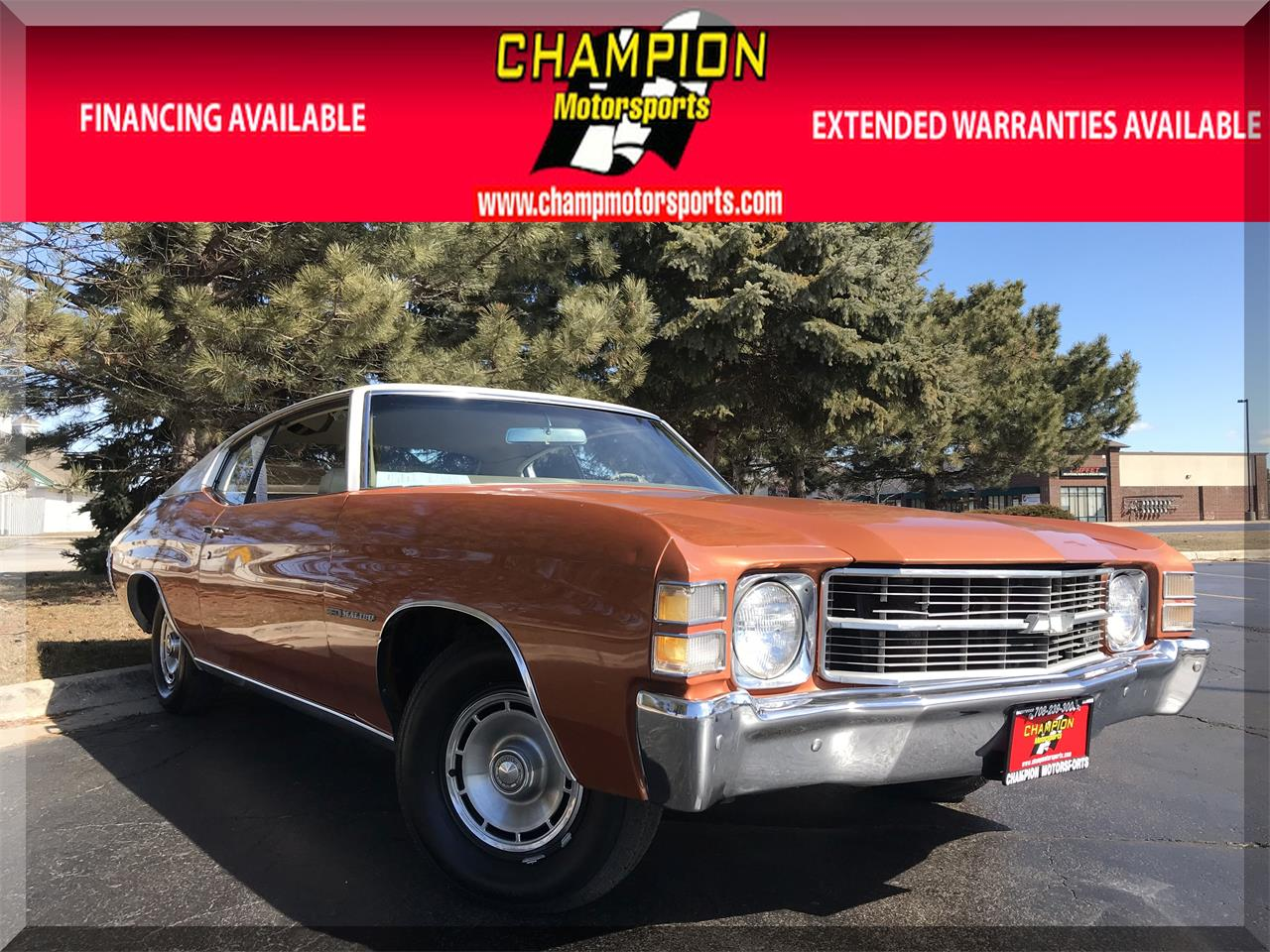 Large Picture of Classic '71 Chevelle Malibu - $15,995.00 Offered by Champion Motorsports - N55J