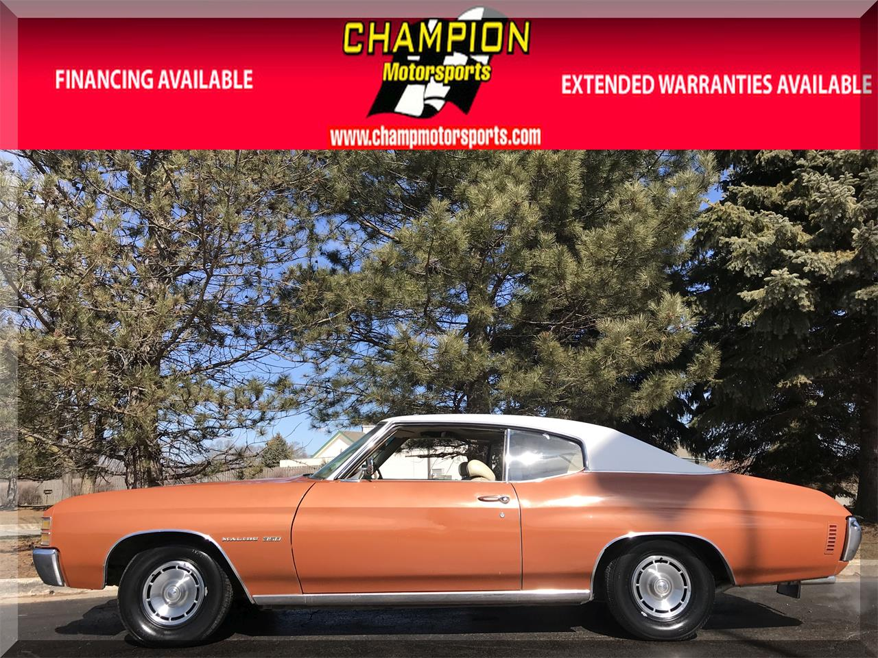 Large Picture of Classic '71 Chevelle Malibu Offered by Champion Motorsports - N55J