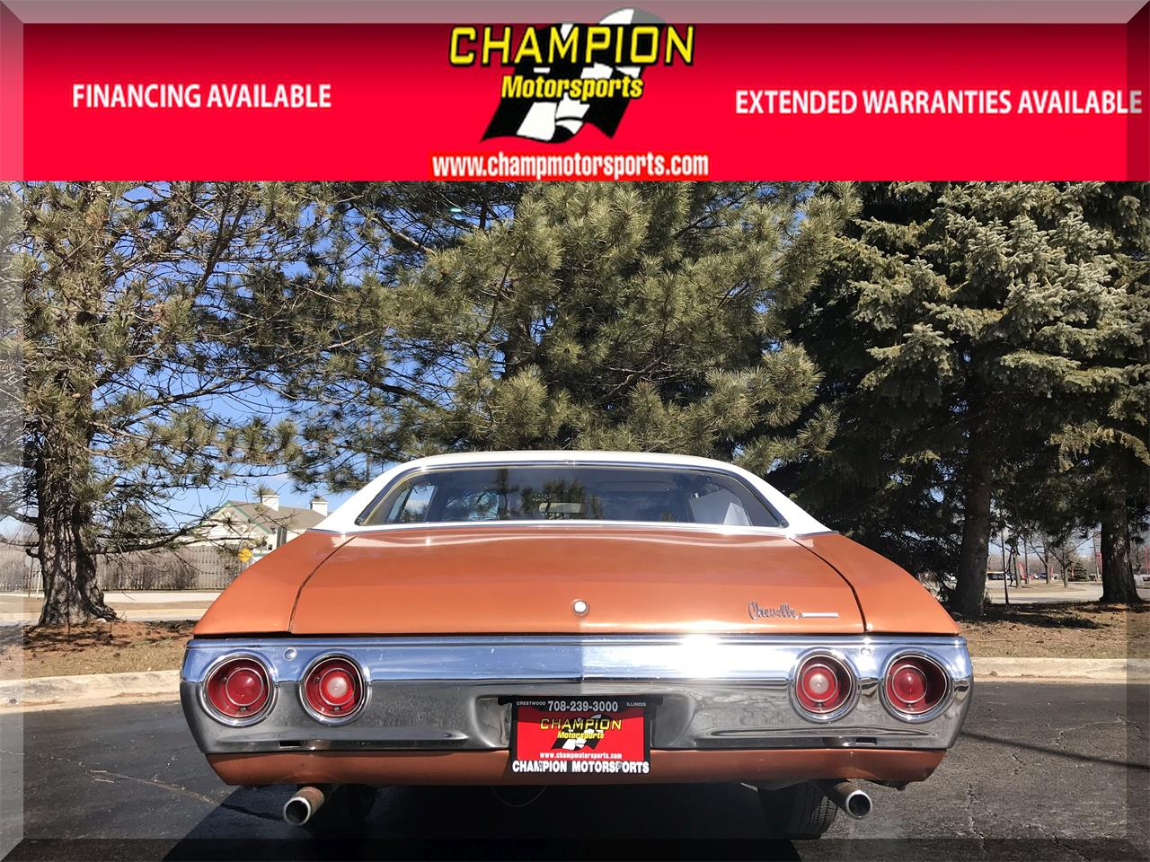 Large Picture of '71 Chevrolet Chevelle Malibu Offered by Champion Motorsports - N55J